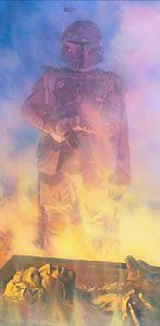Star Wars - Fett's Prize - William Silvers - World-Wide-Art.com - $175.00 #StarWars #Lucas