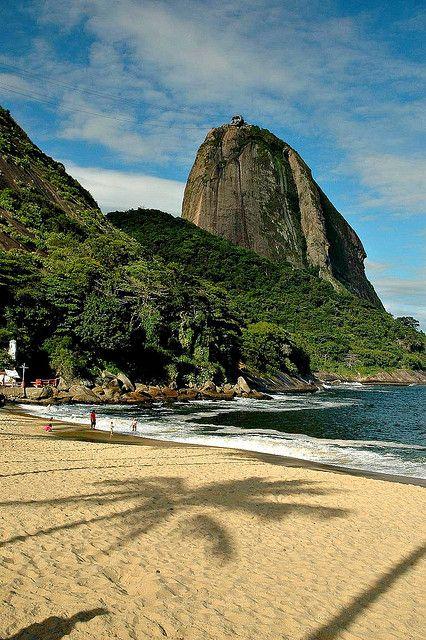 Rio de Janeiro, Praia Vermelha Red Beach, Brazil