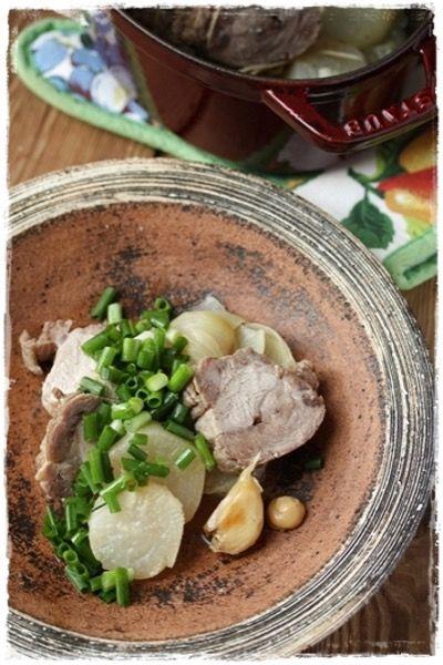ストウブ】豚と大根の和風ロースト by はるひ | レシピサイト「Nadia ...