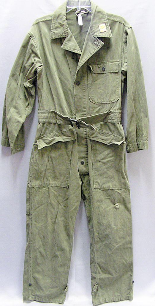 1940s mechanics jumpsuitfunktional camo wear