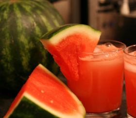 recipe: watermelon alcoholic punch bowl [22]