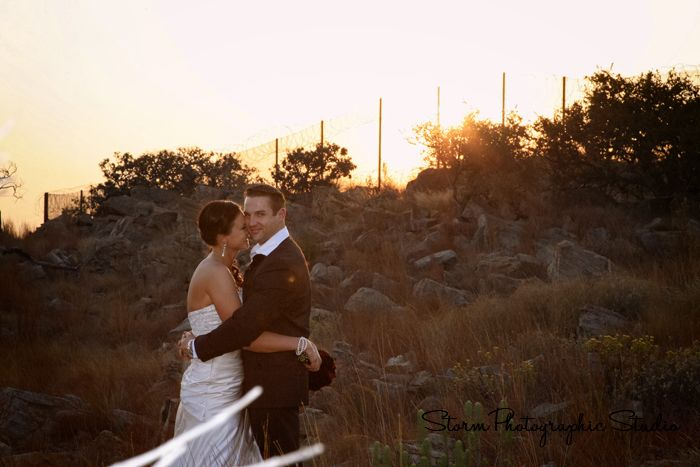 Sunset Bridal Portrait. Wedding Photography by Storm Photographic Studio, Wedding Photography Gauteng.