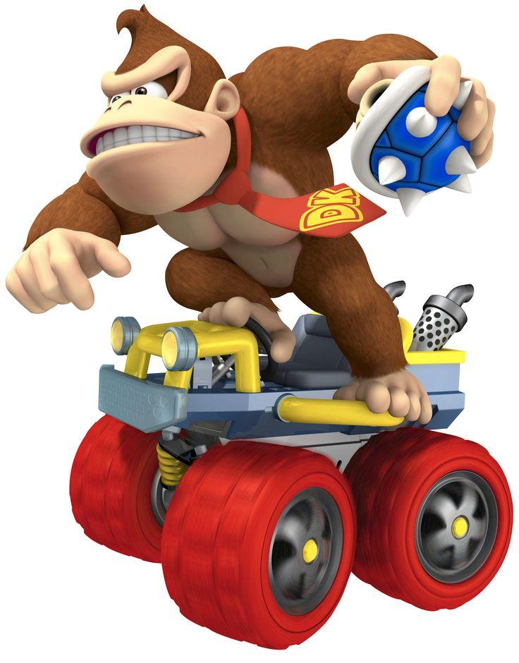 Donkey Kong...BLUE SHELL!!!