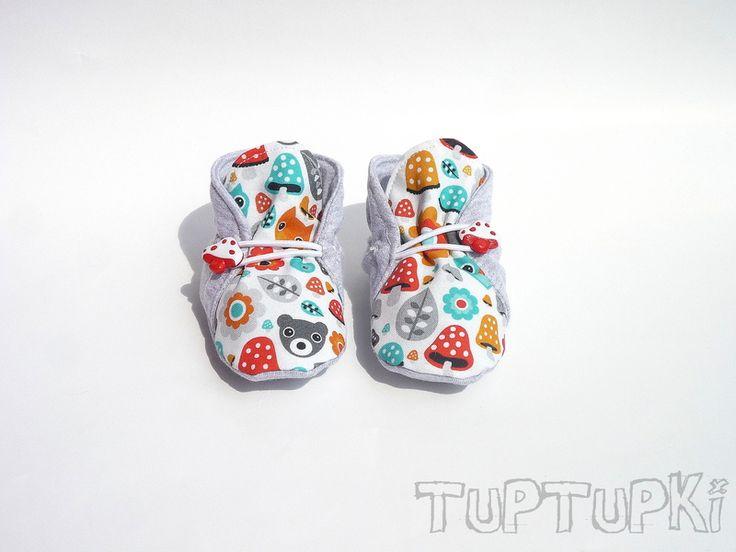 Letnie TupTupki ABS Muchomorek w TupTupki na DaWanda.com