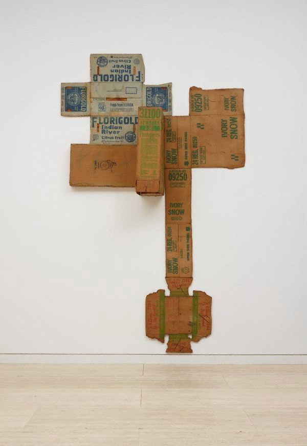 "My brother-in-law Tim McDonald turned me on to Robert Rauschenberg's ""Cardboards"". This one is in the collection of The Art Gallery of New South Wales in Sydney."