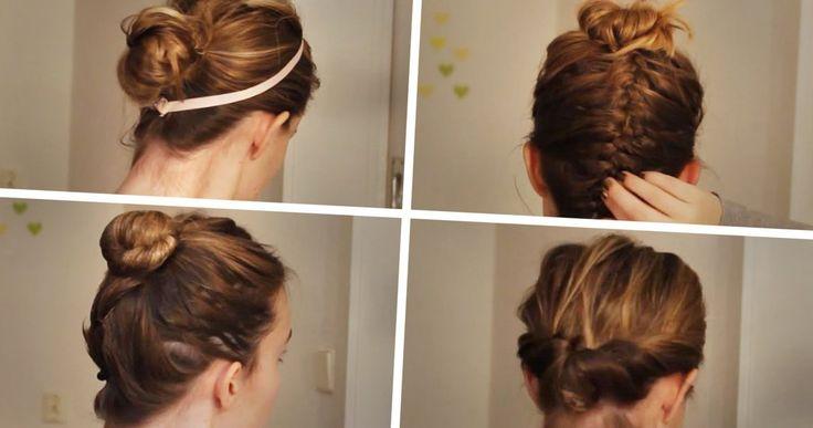 Schulterlange haare hochstecken - http://stylehaare.info/374-schulterlange-haare-hochstecken.html. #TRENDS2017 #frisuren #haar #frisuren2017