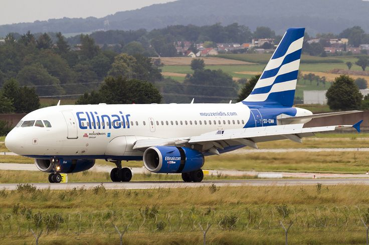 Ellinair Airbus A319-132 SX-EMM
