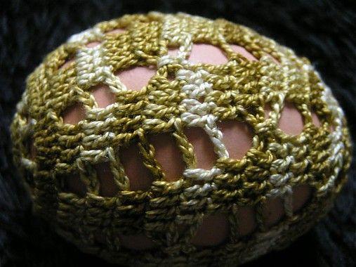 Gabriela.art / Háčkované vajce 17