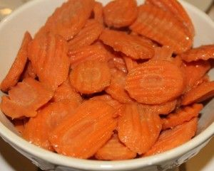 Glazed Carrots. Used Stevia for sugar. Delicious!