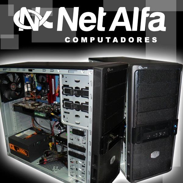 Maquina Gamer - Cooler Master Chassis Elite 335U  Equipada com o processador I5 3450 da 3º geração Intel, HD 1Tera, Memória de 4GB DDR3, Placa Mãe Asus P8B75M-Le e uma VGA GTX 550TI  Acesse nosso site e fique por dentro das novidades.  http://www.netalfa.com.br/