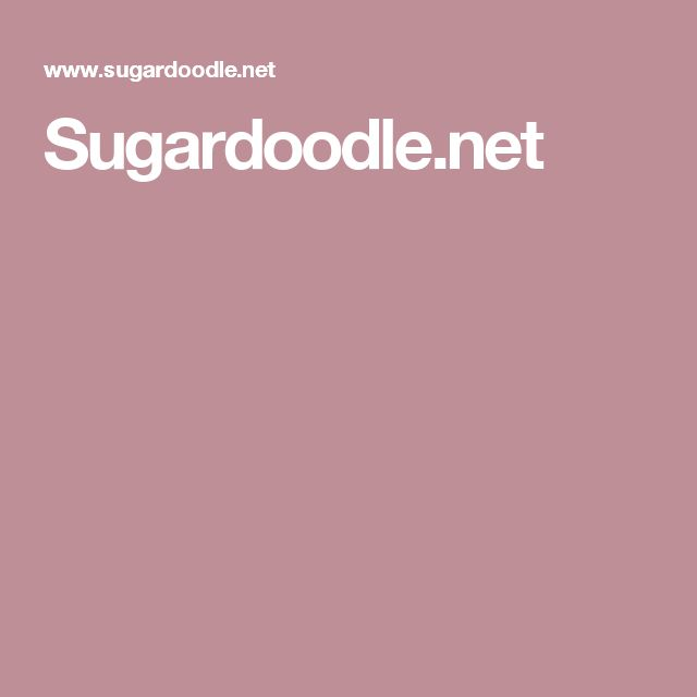 Sugardoodle.net