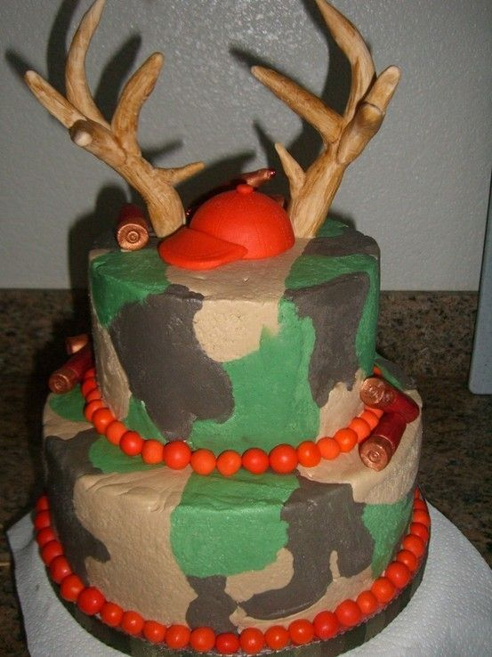 25 best First bday ideas images on Pinterest Camouflage cake Camo