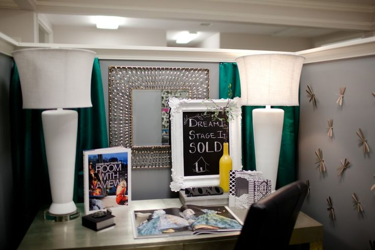 Decorated cubicles. #cubicledecorating | Decorated Cubicles ...