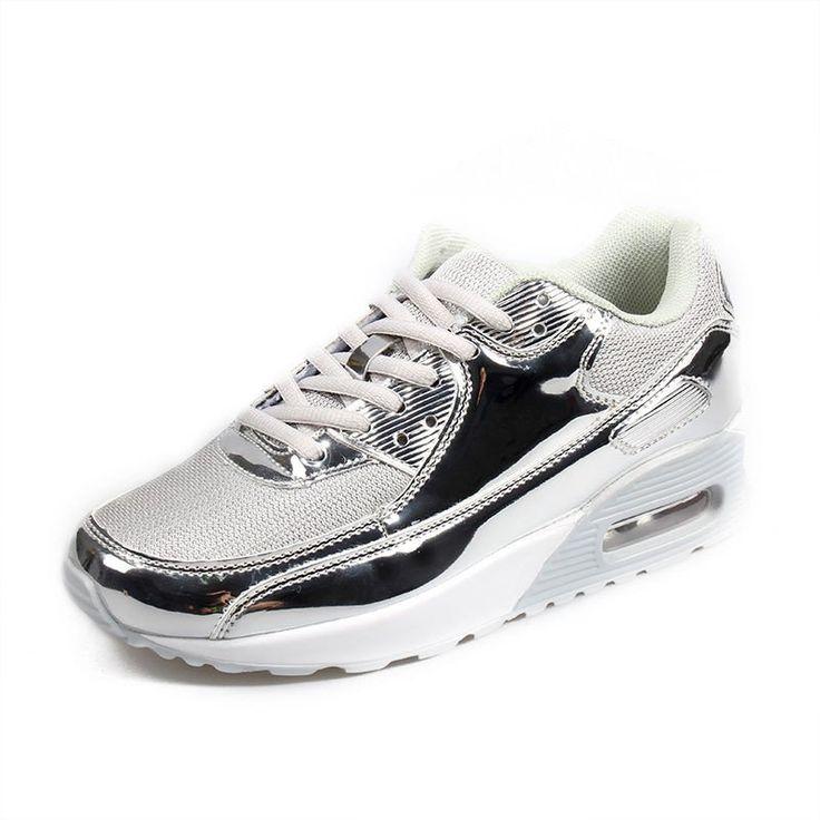 Zapatillas para caminar Shift RYKA para mujer, gris / plateado, 6.5 M US
