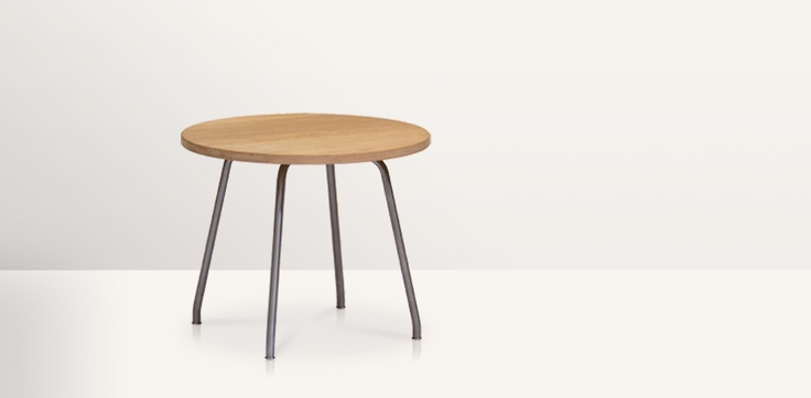 "Simple and stylish coffee table, designed as part of the ""Kastrup series"" i the 1970's by Danish designer Hans J. Wegner."