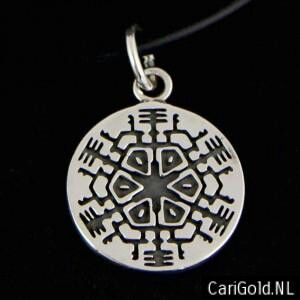 #Marillion #Jewellery Sterling silver #SEASONS END Pendant-(21,5mm) inspirated by the CD SEASONS END - Designed by Karin Hengeveld- PENSEA21- CariGold- www.carigold.nl