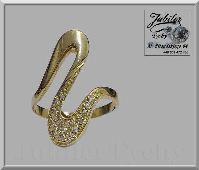 Złoty pierścionek z cyrkoniami 💎🎁💥 #Złoty #pierścionek z #cyrkoniami #Złoto #Au585 #Gold #Złote #pierścionki #cyrkonia #cyrkonie #cyrkoniami #Jubiler #Tychy #Jeweller #Tyski #Złotnik #jubilertychy #Zaprasza #Promocje: ➡ jubilertychy.pl/promocje 💎