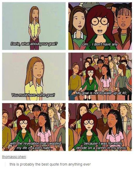 Daria gets it