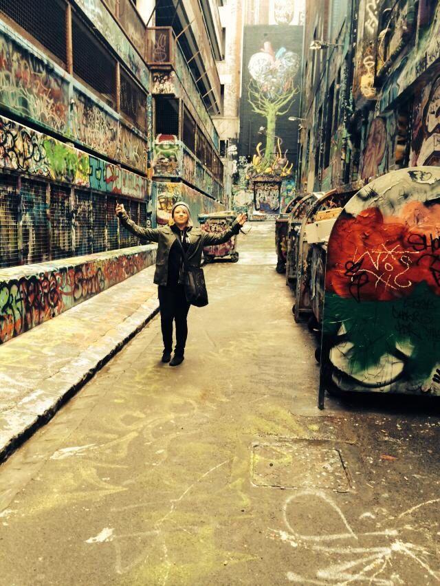 So much street art!!! #graffit #streetart #laneway #lesbian
