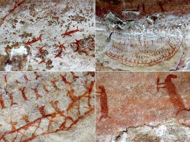 Estes desenhos começaram a ser feitos pelos homens há cerca de 40.000 anos atrás.
