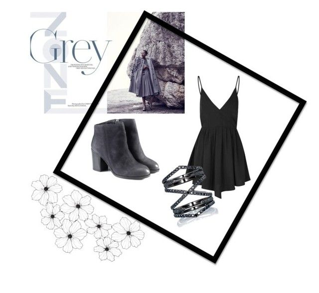 """""""Simply Black and Grey"""" by ipeksell on Polyvore featuring Glamorous and Eva Fehren"""