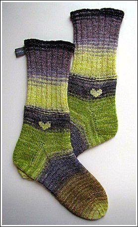 Winterscape Socks