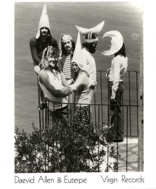 Gong daevid allen gilli smyth steve hillage planet psychedelic rock