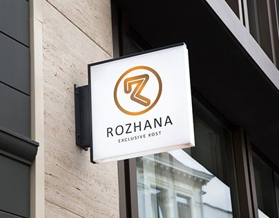 "Check out new work on my @Behance portfolio: ""ROZHANA logo"" http://be.net/gallery/50447517/ROZHANA-logo"