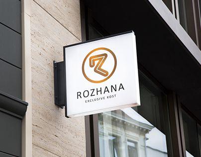 "Check out new work on my @Behance portfolio: ""ROZHANA logo"" http://be.net/gallery/50447517/ROZHANA-logo"