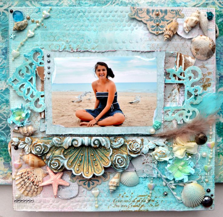 http://bellaideascrapology.blogspot.ca/2014/01/a-soft-beachy-mood-board-from-satw-and.htmlMy canvas for DT SATW with 13 arts and Wycinanka