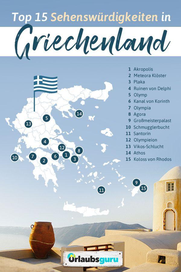 Top 15 Sehenswurdigkeiten In Griechenland In 2020 Griechenland