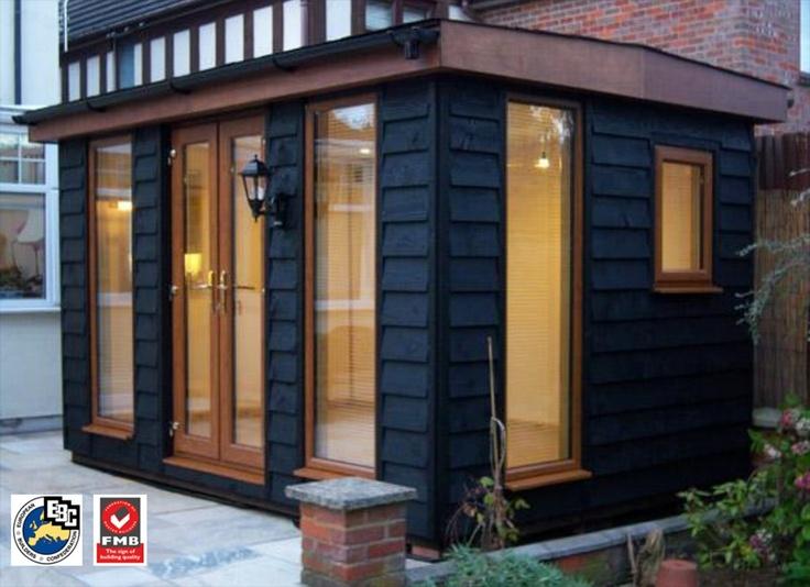 prefab garden office. Garden Office Room Paint It Black Prefab S