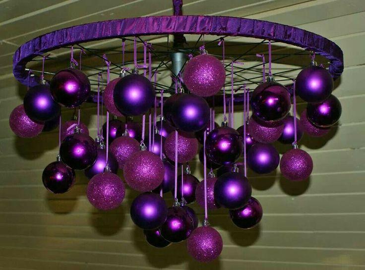 Fietswiel en kerstballen en wat fantasie.