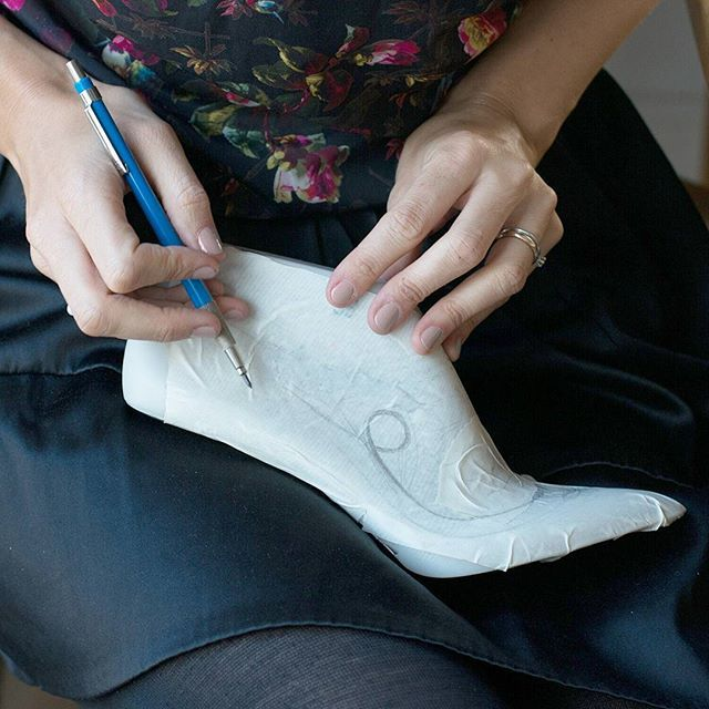 Shoe design process at roccamore. Testing out ideas and detail placement. 👠 ✏ Heels | Footwear | Shoes | Boots | Slow fashion | fair fashion | Designer Shoes | Stylish women shoes | Versatile shoes | Ankle boots | Black classic shoes | Work shoes | Work heels| Work high heels | boots | woman boots | Women shoes