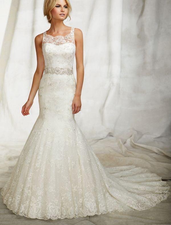 trumpet wedding dresses body type