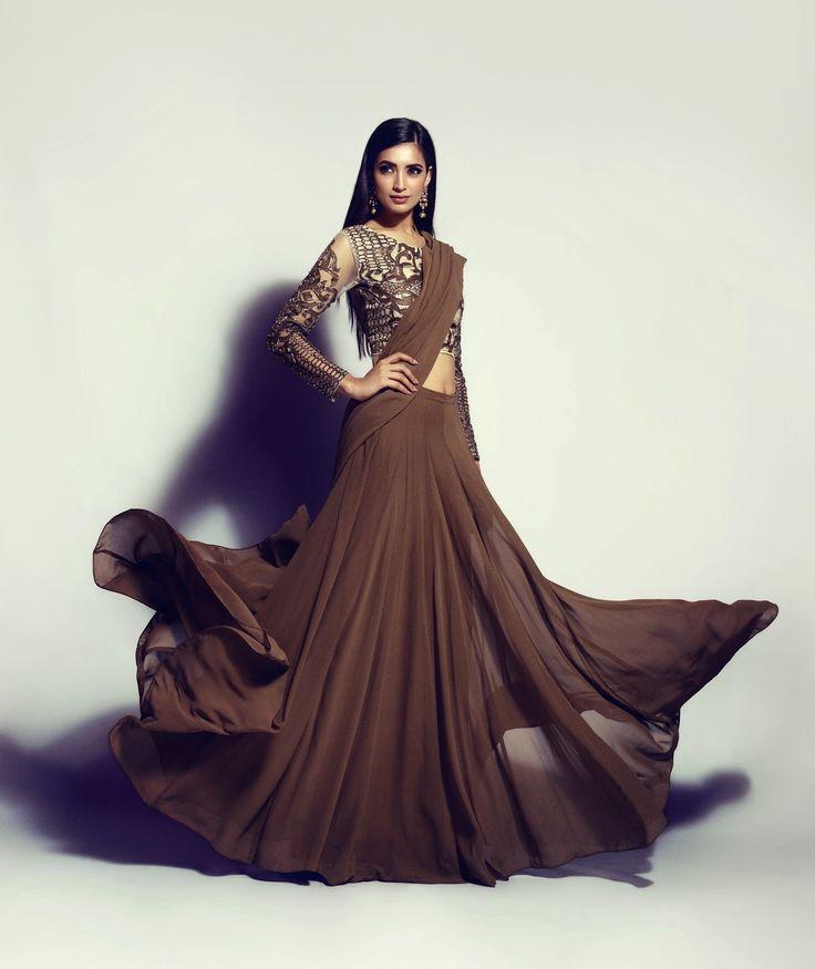Natasha Kamal. Love the sleeves!!