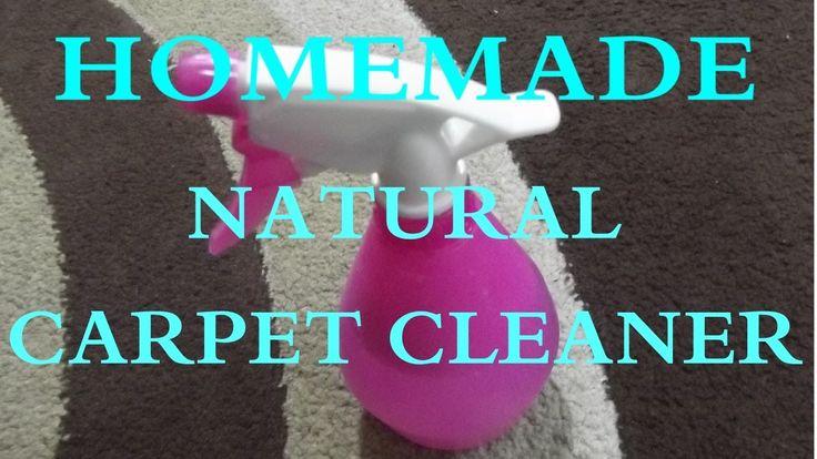 Homemade Natural Carpet Cleaner ✨ Σπιτικό φυσικό καθαριστικό χαλιών
