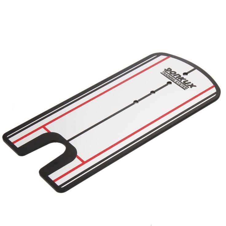 Golf Putting Mirror Alignment Training Aid Swing Trainer Eye Line Golf Practice Putting Mirror Large Golf Accessories