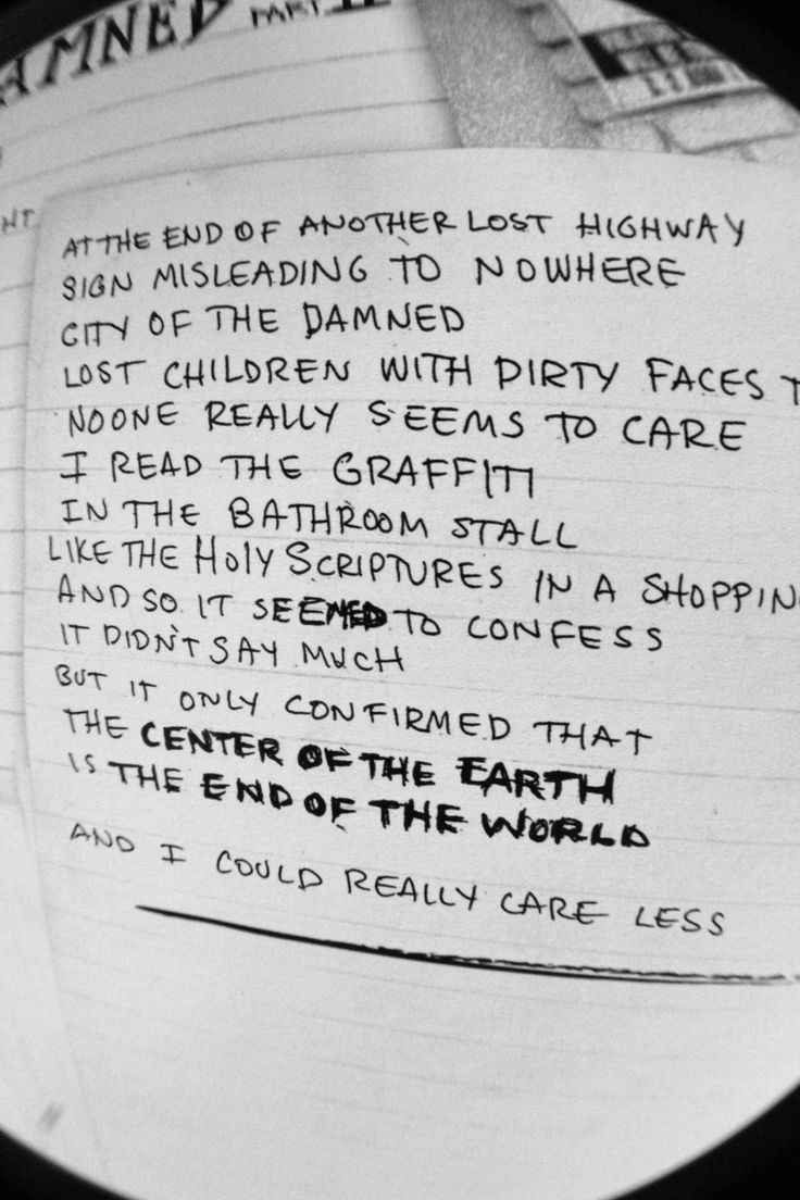 City of the damned at the end of another lost highway no one really seems to care