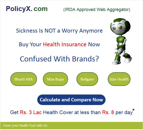 Compare health insurance and get the free quotes & tips about the health insurance policies. Also avail tax Benefit under section 80-D.