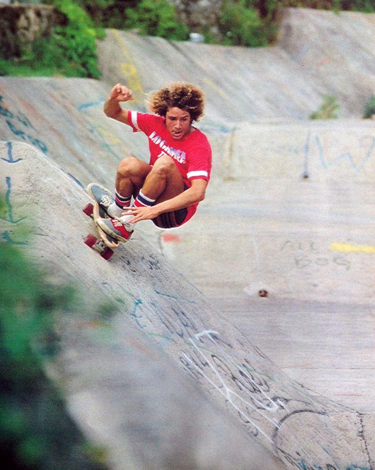 Tony Alva, Hawaii's Wallos, 1976 #skateboarding