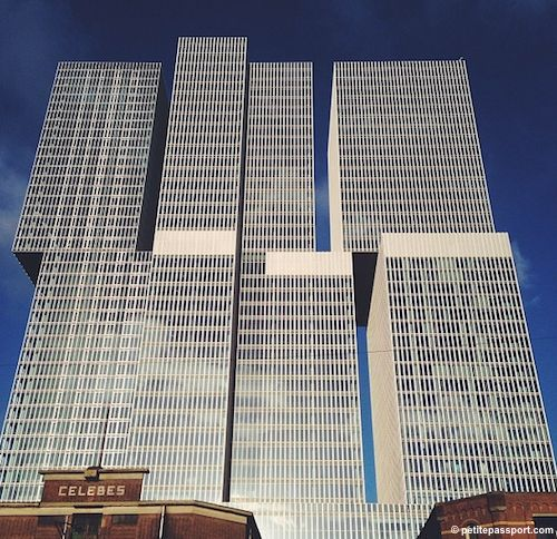 The rotterdam biggest building in the netherlands with a for Architecture firms in netherlands
