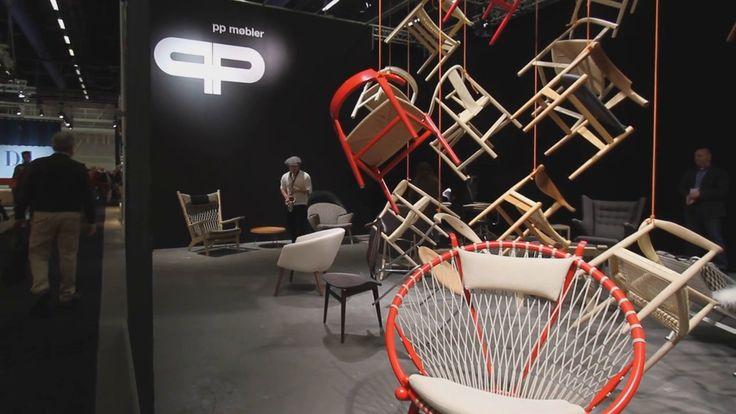 PP Møbler at Stockholm Furniture Fair 2015
