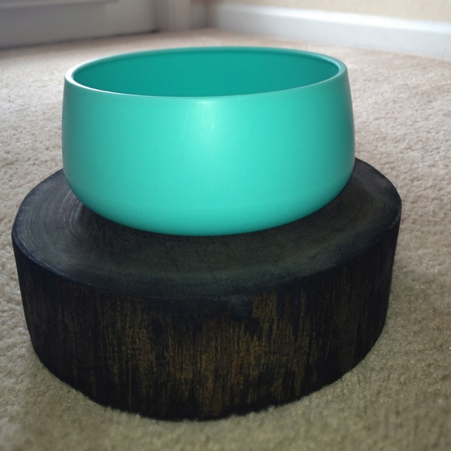 Dog Bowl & Stand by krWOODen