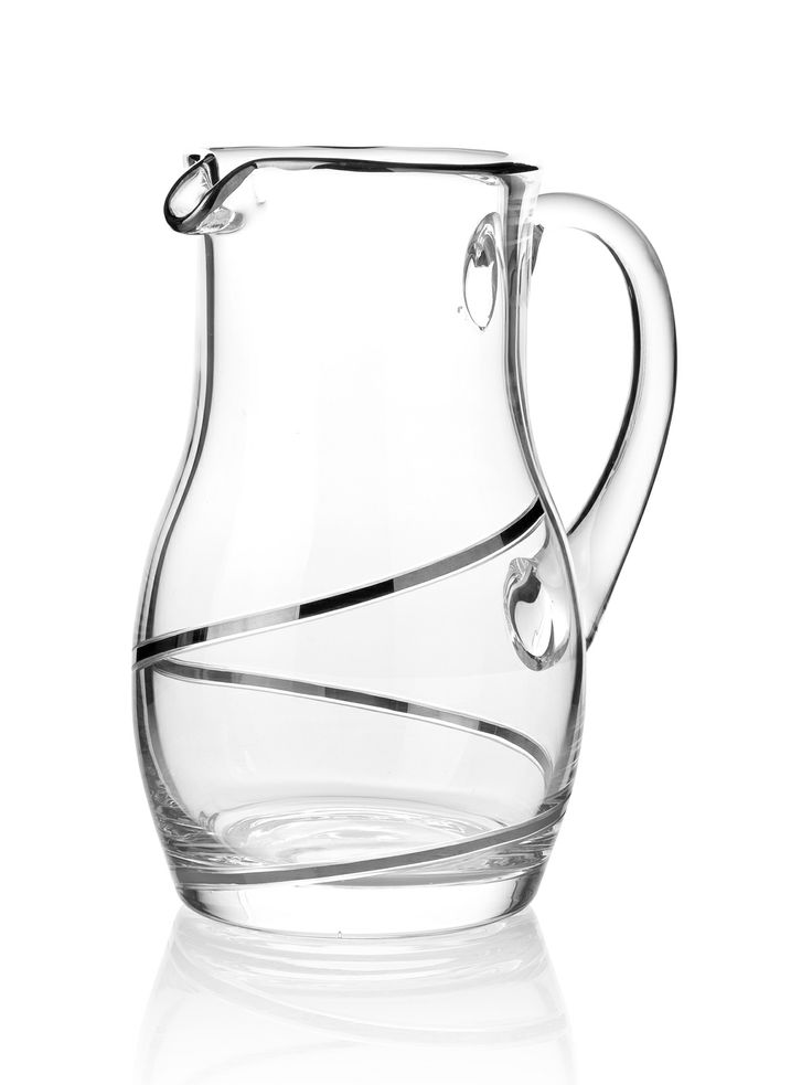 Bernardo Fashion Sürahi / Water Pitcher #bernardo #tabledesign #glass