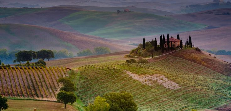 Tuscany, Italy -- hopefully this is where I'll be next year at this time!..