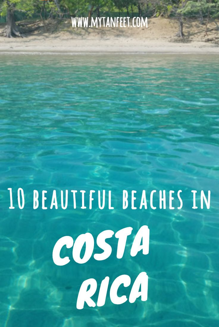Our 10 favorite beaches in Costa Rica. Click through to see: https://mytanfeet.com/costa-rica-beach-information/best-beaches-in-costa-rica/    Costa Rica | Costa Rica travel tips | Costa Rica travel blog