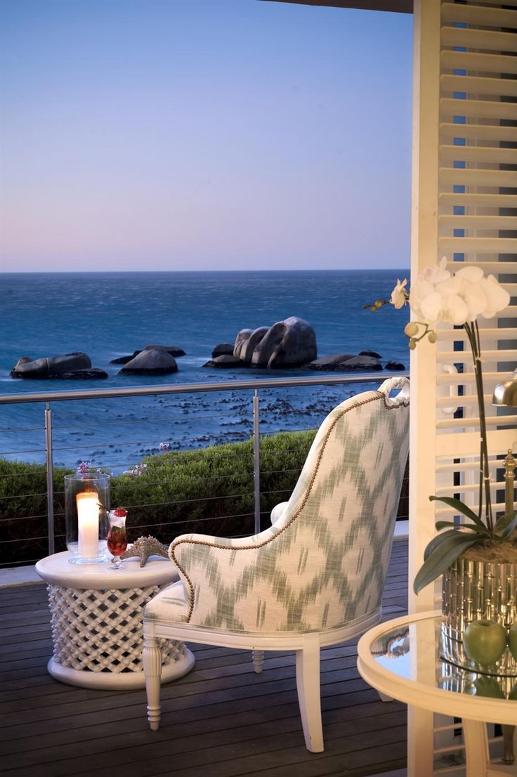 Twelve Apostles Hotel & Spa in Cape Town South Africa. Africa is more than safaris at this luxury beach resort.