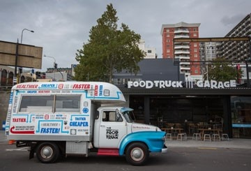 Food Truck Garage - awesome!!