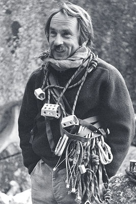 """""""The goal of climbing big, dangerous mountains should be to attain some sort of spiritual and personal growth, but this won't happen if you compromise away the entire process."""" - Yvon Chouinard circa 1973"""